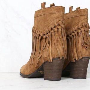 Sbicca Shoes - SBICCA vintage collection sound fringe bootie